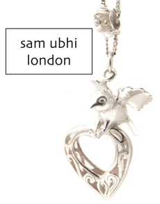 Sam Ubhi Flying Bird Necklace