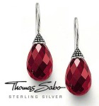 Briolette Earrings in Garnet by Thomas Sabo, £84.95