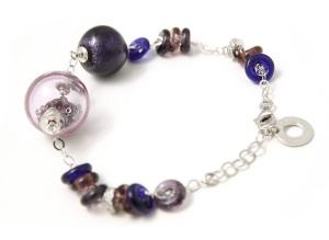 Antica Murrina Venezia Amethyst Shine Bracelet, £117