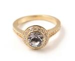 Swarovski Angelic Ring in Gold, £80