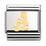 Nomination Aquarius Starsign in Gold, £16