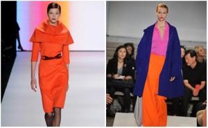 Block Colour at New York Fashion Week