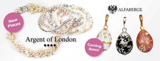 New Argent of London and Alfaberge coming soon to Fabulous