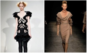 Lace and Fur at New York Fashion Week