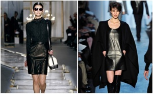 Leather at New York Fashion Week