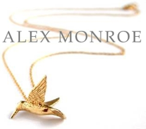 Alex Monroe - Delicately playful jewellery inspired by the beauty of nature.