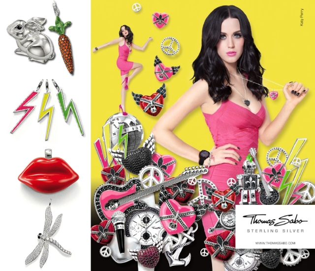 Katy Perry for Thomas Sabo Pop Now Collection