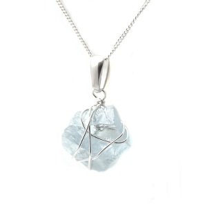 Argent of London Aquamarine Pendant, £120