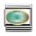 Nomination Emerald Charm, £24