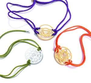 Daisy Chakra Bracelets, from £55 - Available at SouthGate Bath Fashion Show!