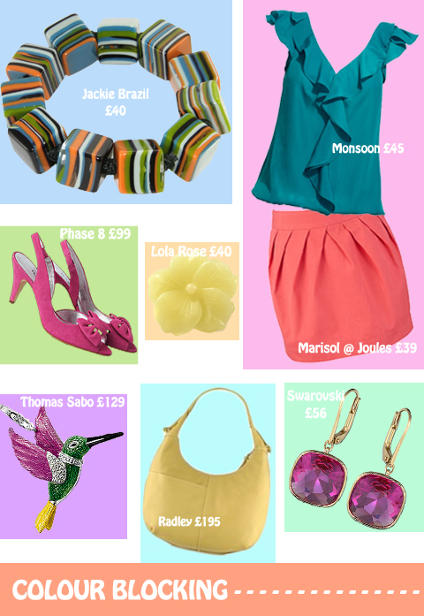 Work the Colour Blocking trend this Spring!