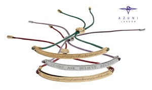 Designer Friendship Bracelets from Azuni, perfect for gifts
