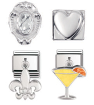Nomination Sterling Silver Charms, from £22