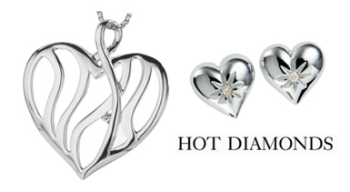 Hot Diamonds wedding jewellery