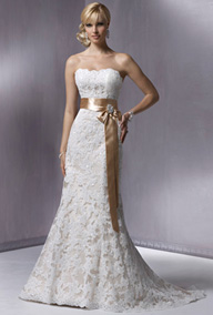 The Sultry Lace Wedding Gown
