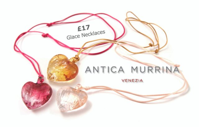 Antica Murrina Glace Necklaces, a very affordable £17 each
