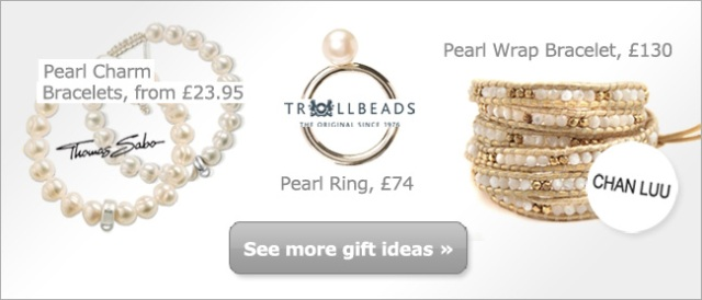 Gift Ideas for June Birthdays - Pearl