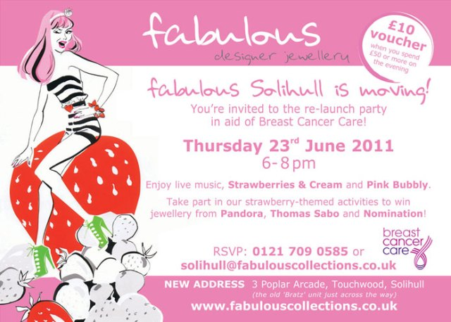 Solihull Launch - Strawberry Tea Party