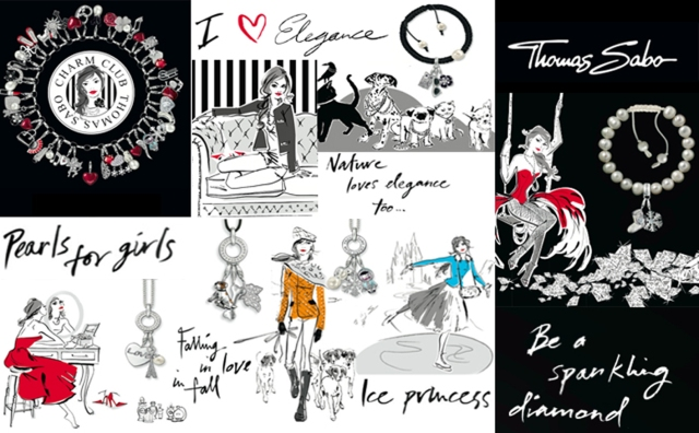 New Thomas Sabo Autumn/Winter 2011 Charm Club Collection
