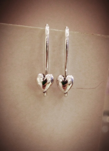 Heart Earrings from Pandora