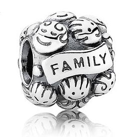 Sterling Silver Family Ties PANDORA charm