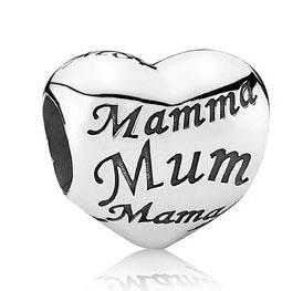 Sterling Silver Mum PANDORA charm