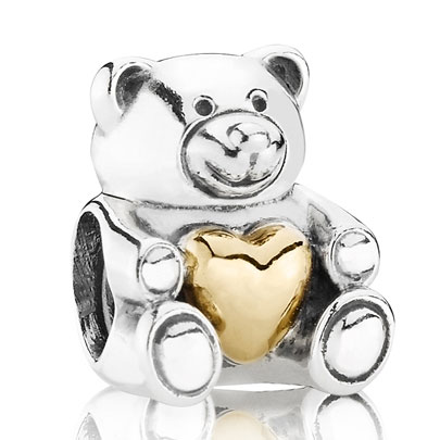 Sterling Silver and Gold Limited Addition PANDORA charm