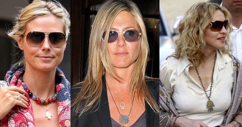 Celebrities with Evil Eye Jewelries - Pinterest
