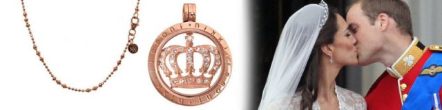 Nikki Lissoni Royal Baby Necklace