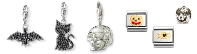 Halloween jewellery charms