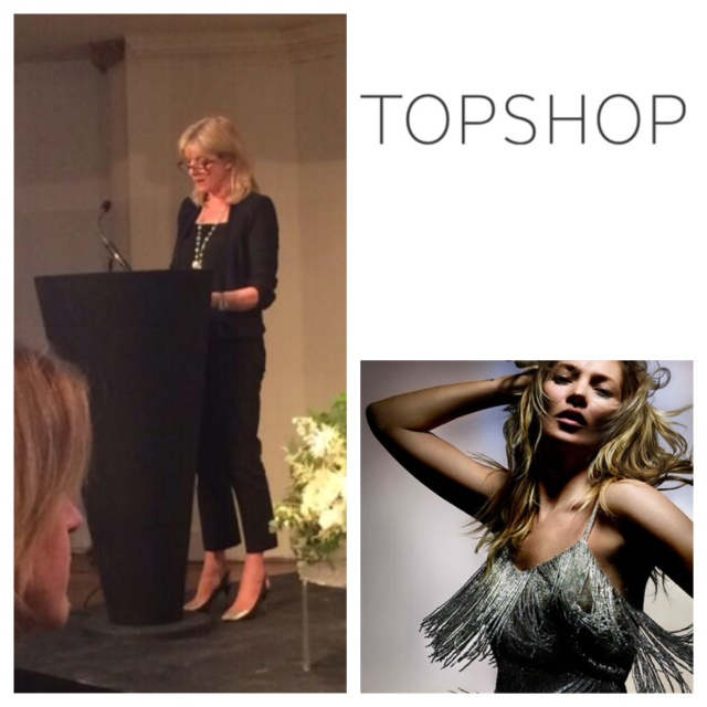 Mary Homer MD of Topshop