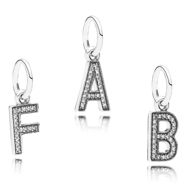 NEW Pandora Initials, £25 Call 0845 450 9334 to order yours with FREE UK delivery