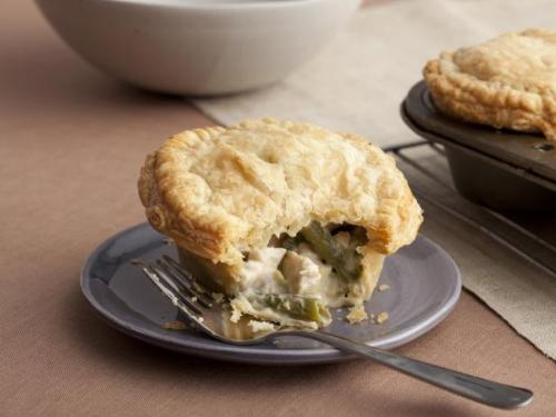 leftover turkey pies