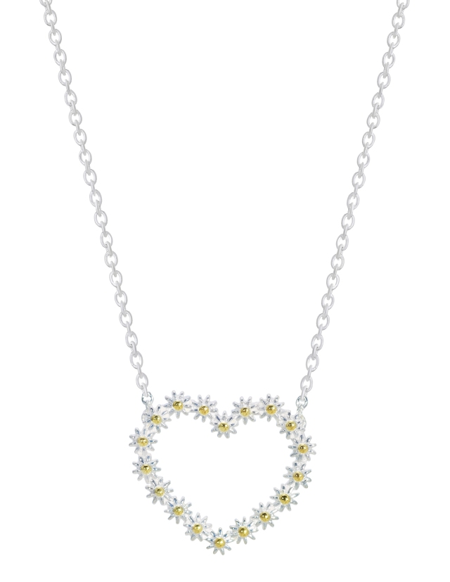 Daisy Iota Sterling Silver Pendant, £79, from Fabulous SouthGate 01225 330333