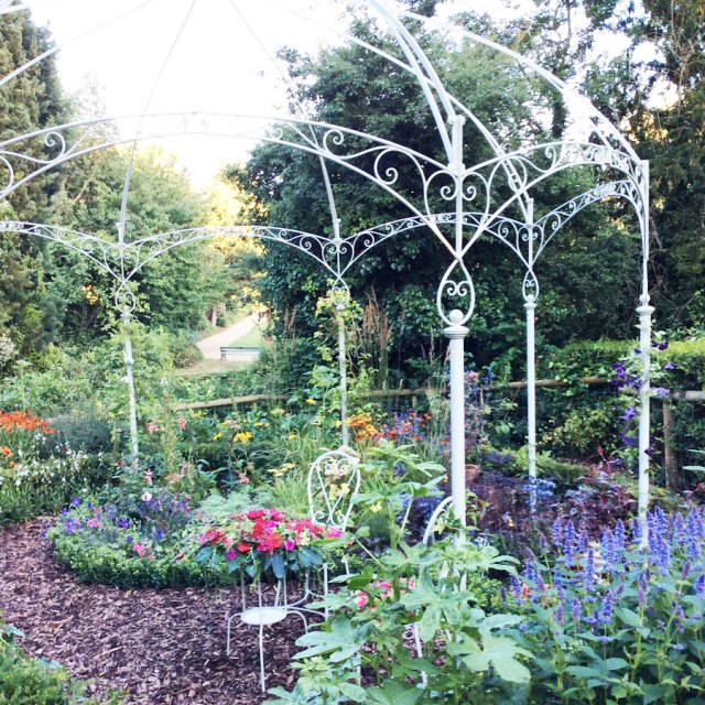 The garden open to the public in  Jephson Gardens