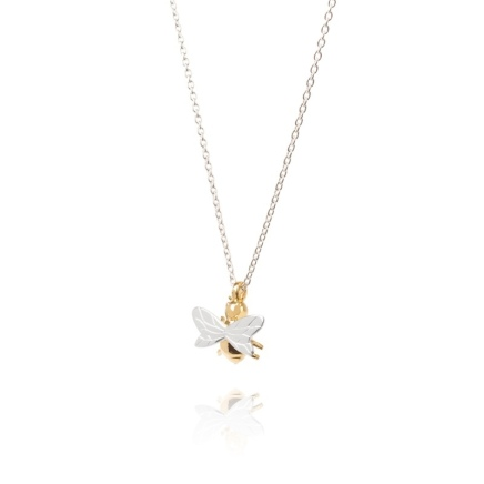 bee-small-necklace-gold-silver