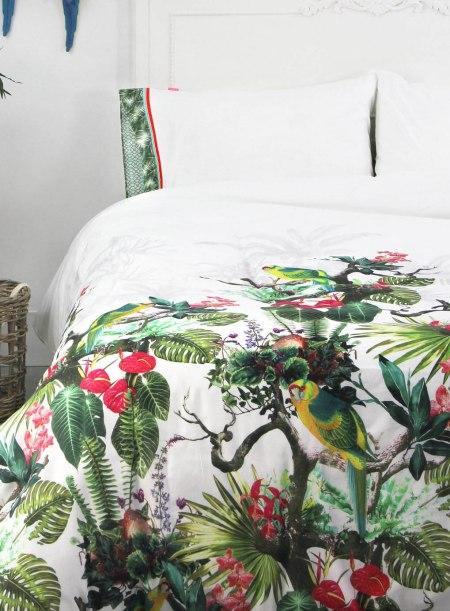 bhs bedding paradise print