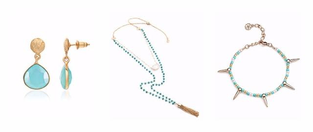 Azuni Santa Fe Turquoise Gold Silver Designer Jewellery London