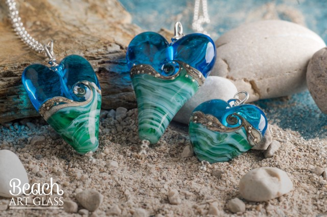 Trollbeads Lampworker Julie Foutain Beach Art Glass Designer Jewellery