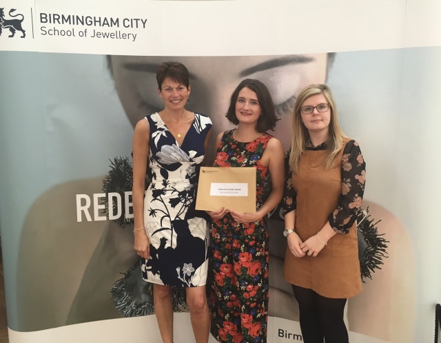 Birmingham School of Jewellery, Fabulous Futures Award, jewellery award, students, fabulous collections, Jewellery and Silversmithing Design for Industry, degree course