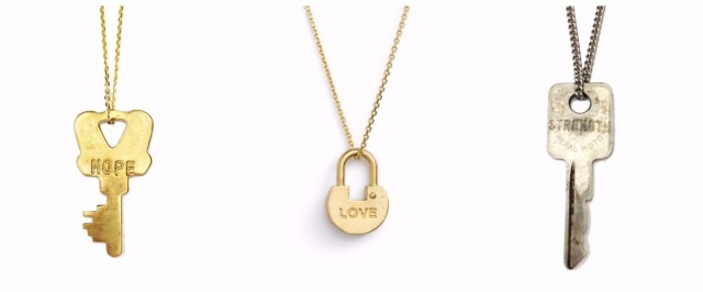 The Giving Keys Key Designer Jewellery Necklaces Jewelry