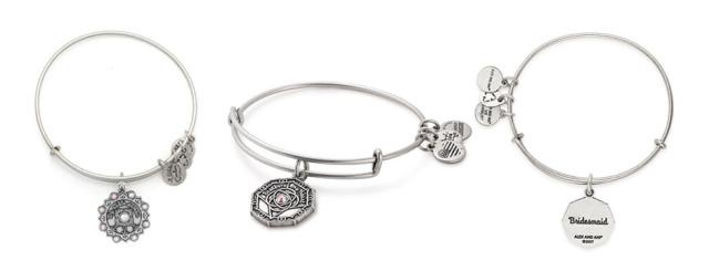 Designer Jewellery Swarovski Crystal Alex and Ani Bangles Brass Bridesmaid Gifts Jewelry