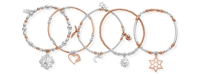 ChloBo Inner Spirit AW17 Collection Inspirational Sterling Silver Rose Gold Jewellery Jewelry